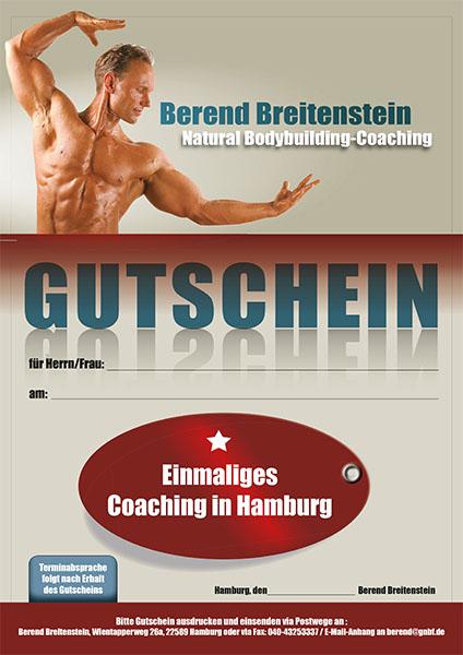 Gutenschein für ein einmaliges Coaching in Hamburg